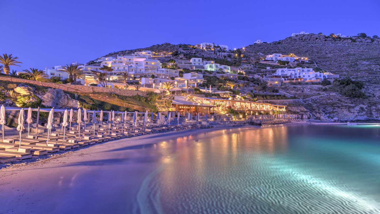 Private Beach at Santa Marina, a Luxury Collection Resort, Mykonos