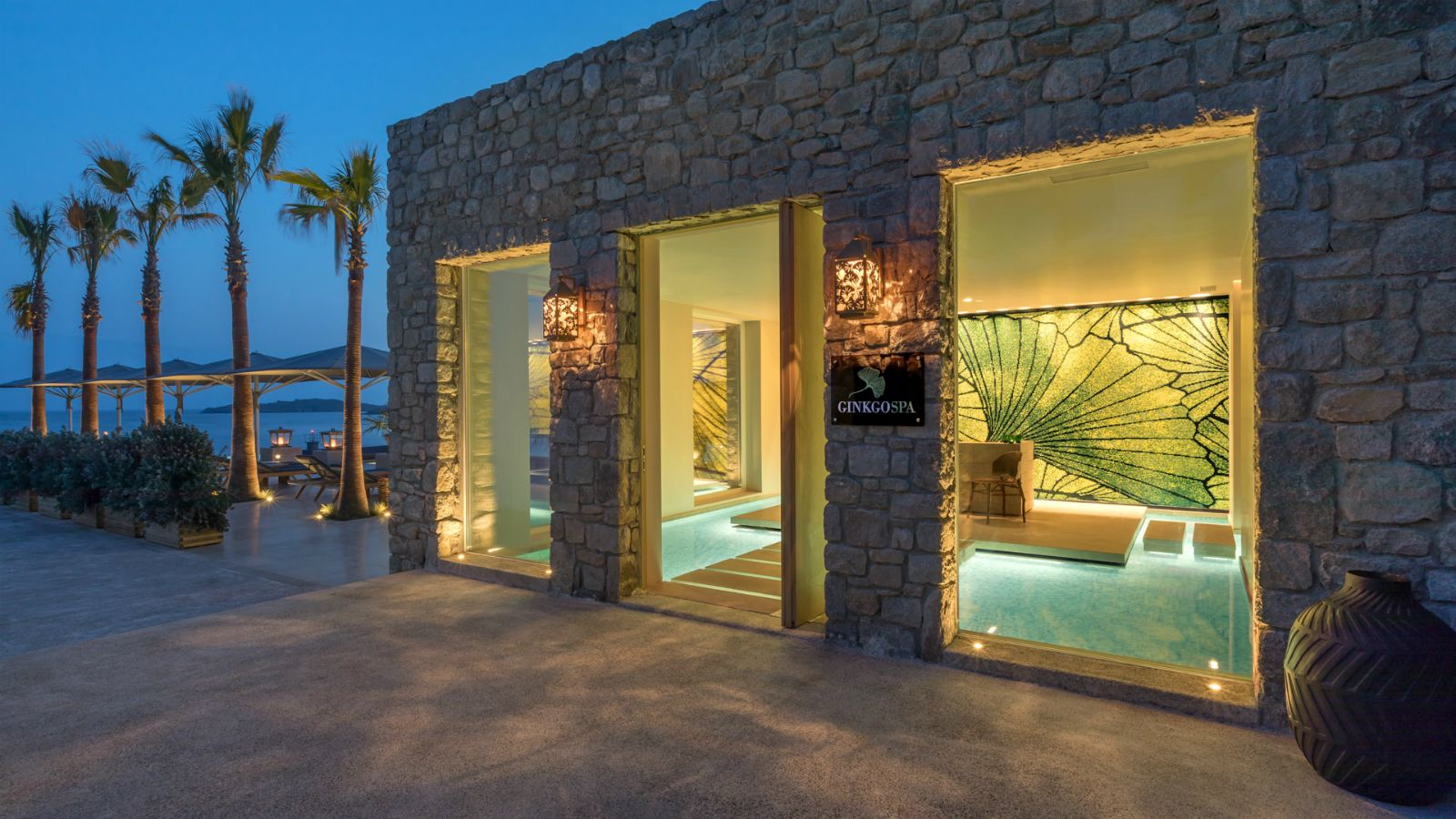 Ginkgo Spa at Santa Marina, A luxury collection resort in Mykonos Greece