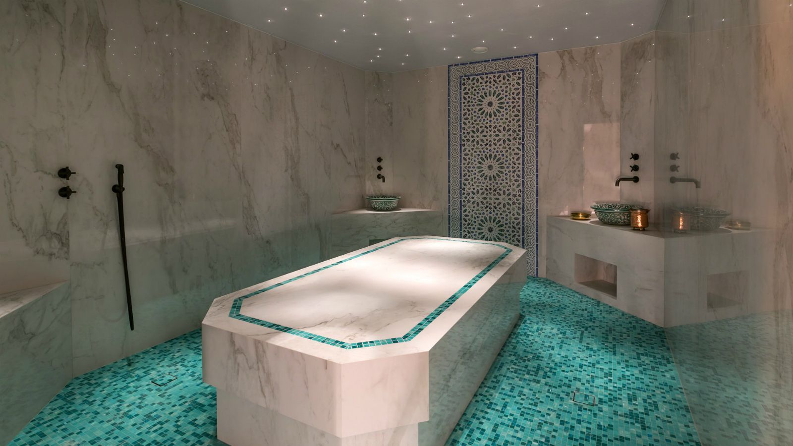 Hammam Massage room of the new Ginkgo Spa at Santa Marina Resort Mykonos The Luxury Collection