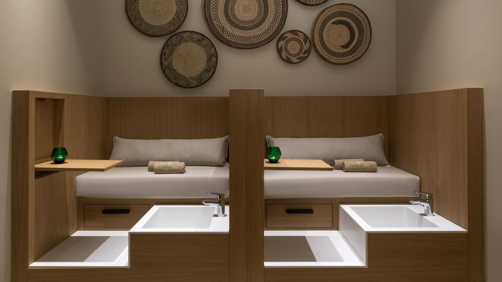 Pedicure of the new Ginkgo Spa at Santa Marina Resort Mykonos The Luxury Collection