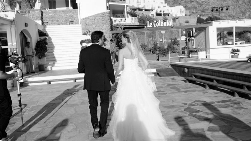 Wedding in Mykonos Santa Marina Resort and Villas Luxury Hotel