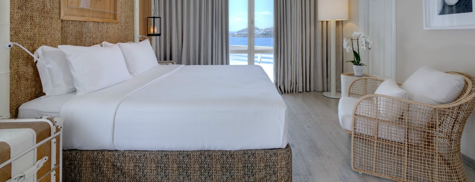 Superior Seaview Room Santa Marina hotel mykonos greece
