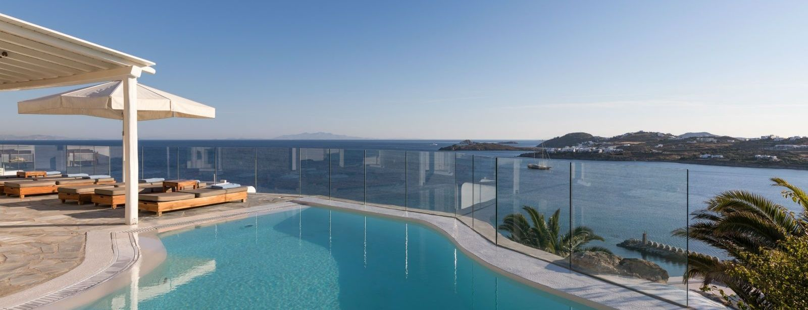 Villa Lapis Lazuli Pool Sea view Santa Marina Resort Mykonos Luxury Hotel