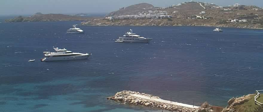 A favourite view from Santa Marina, Mykonos